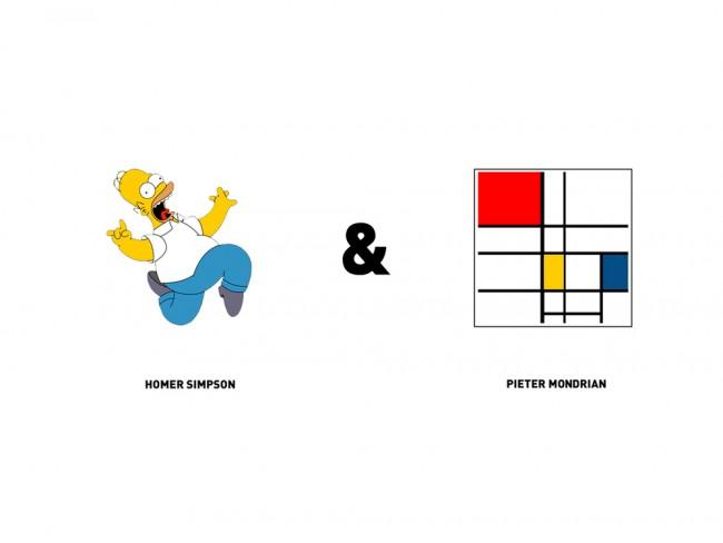 Homer-Simpson-Pietre-Mondrian