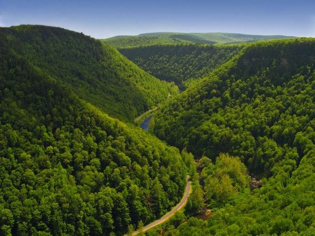 Pine Creek Gorge - Pennslyvanie