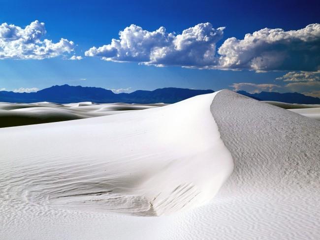 White Sands - Nouveau-Mexique