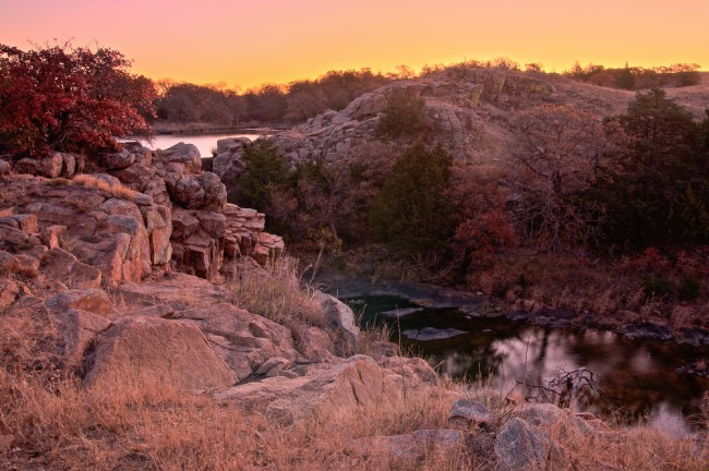 Wichita Mountains Wildlife Refuge - Oklahoma