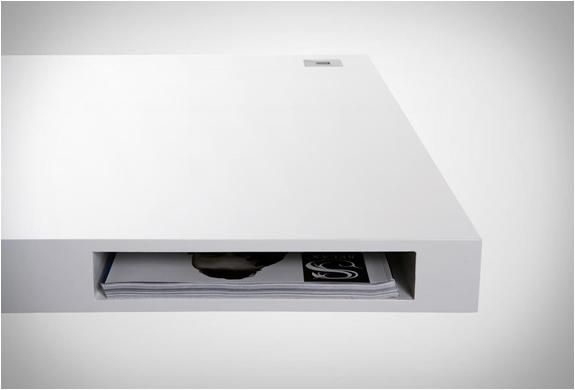 Bureau design rangement arkko for Article bureau