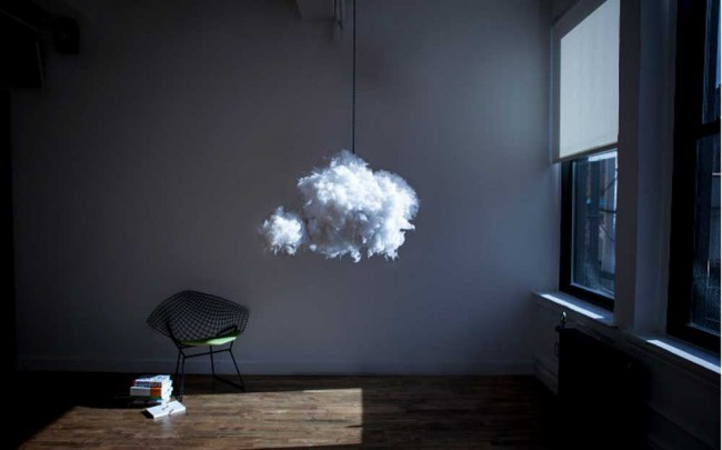 lampe-design-nuage-bluetooth