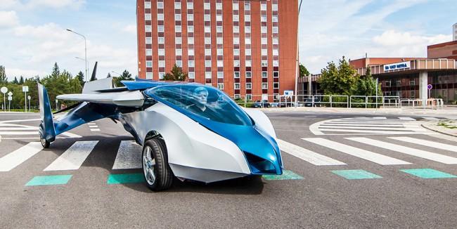Aeromobil, la première voiture volante au monde