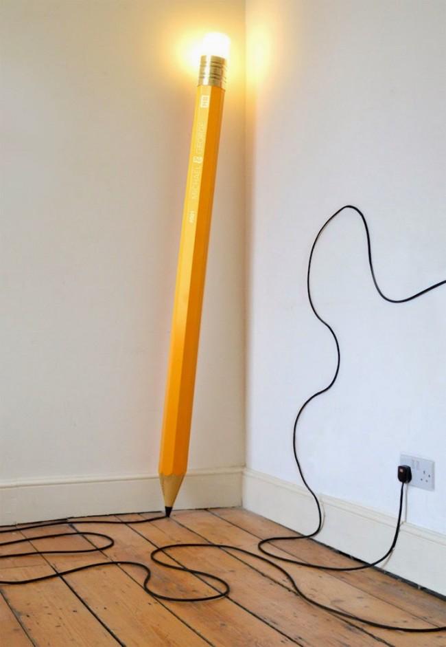 lampe-design-crayon