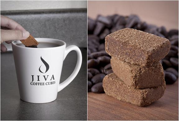 Café en cubes de Jiva Cubes