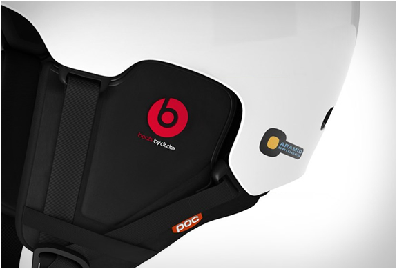 casque-snowboard-bluetooth-poc-beats-rouge