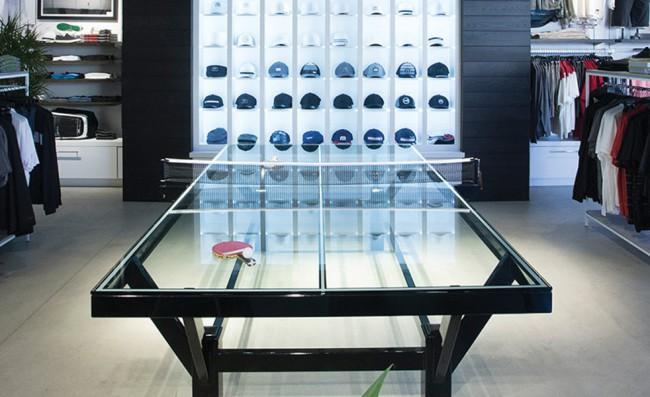 table-pingpong-verre-acier