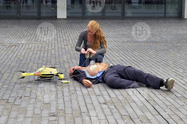 Drône ambulance pour une assistance médicale rapide
