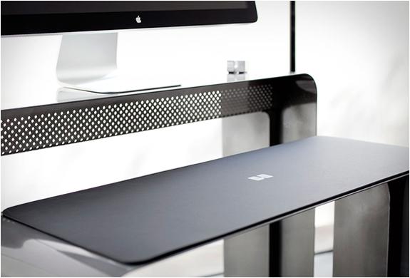 Bureau ergonomique Design en acier