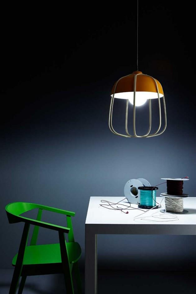 lampe contemporaine tull de tommaso caldera. Black Bedroom Furniture Sets. Home Design Ideas