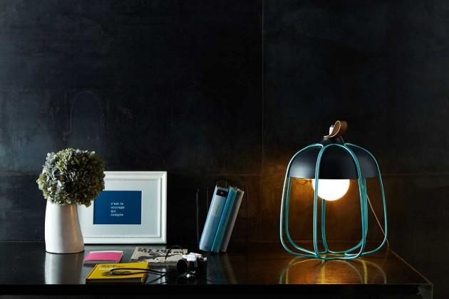 Lampe contemporaine Tull de Tommaso Caldera