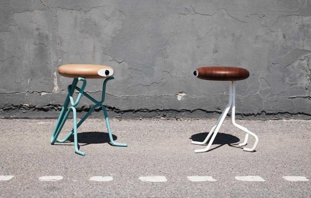 Tabourets Design de Phillip Grass