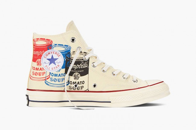 Converse All Star Popart Andy Warhol