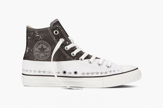 Converse All Star hautes marrons Andy Warhol
