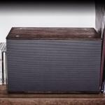 Haut Parleur Vintage en Bois Grain Audio