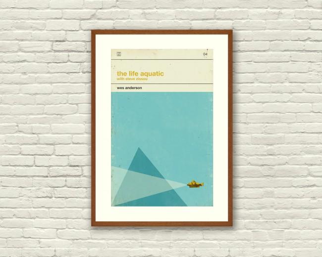 affiche-retro-La-vie-aquatique