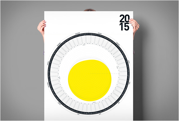 Calendrier circulaire 2015