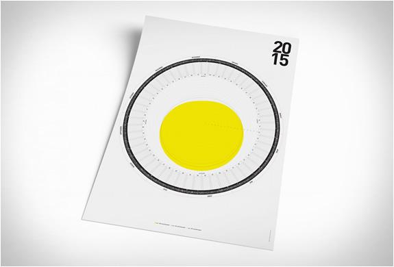 Calendrier circulaire A0