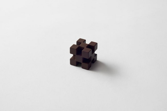 Chocolat design cube
