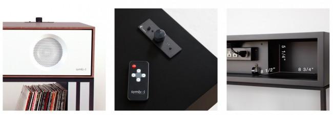 Connectique console vinyl