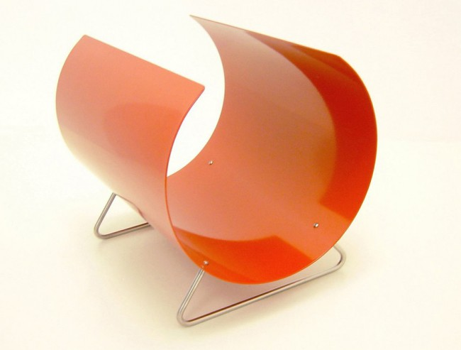 porte-revues design Michael Sodeau orange