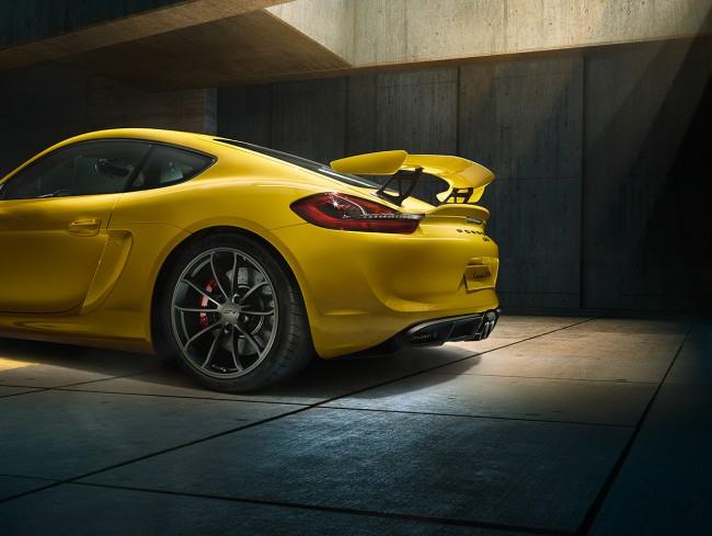 Aileron Porsche Cayman GT4