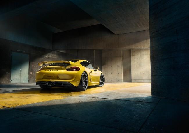 Arriere Porsche Cayman GT4