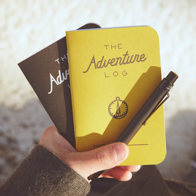 Carnet The Adventure Log
