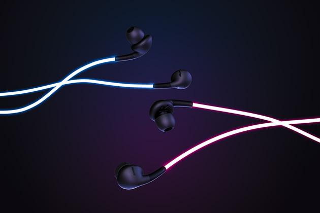 Ecouteurs design Glow