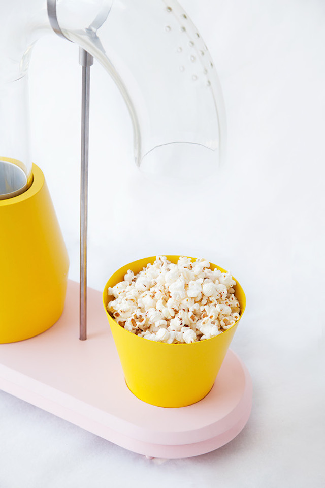 Machine popcorn design