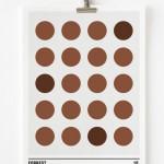 Affiche minimaliste Forrest Gump