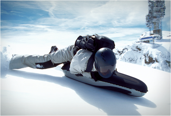 airboard luge gonflable