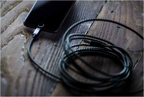 Cable iphone en nylon