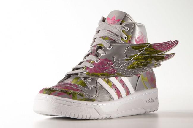 Baskets Adidas Originals Jeremy Scott Floral 1