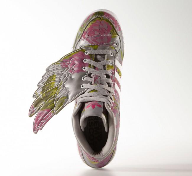 Baskets Adidas Originals Jeremy Scott Floral 4