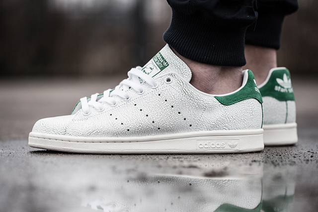 Adidas Stan Smith en cuir craquelé (Cracked Leather)