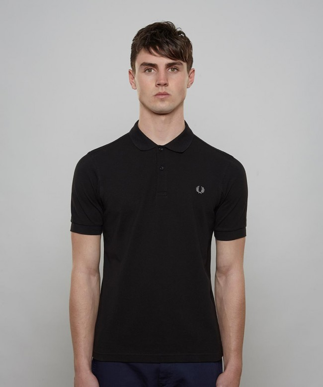 Polo Fred Perry Noir Homme