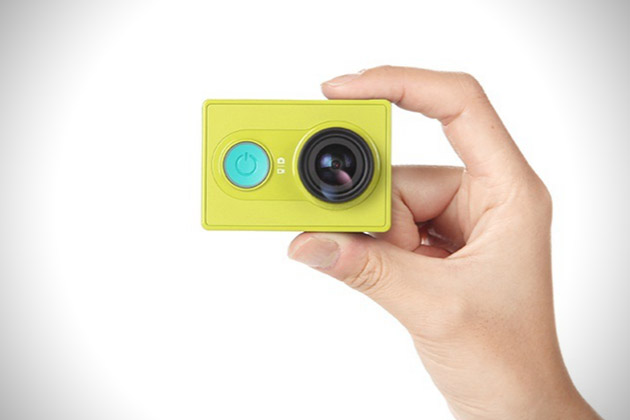 Xiaomi Yi Action Camera concurrent de GoPro