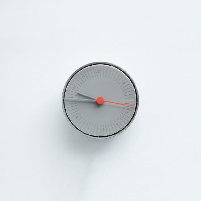 Horloge ronde fuseau horaire