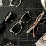 lunettes de soleil en papier recyclé