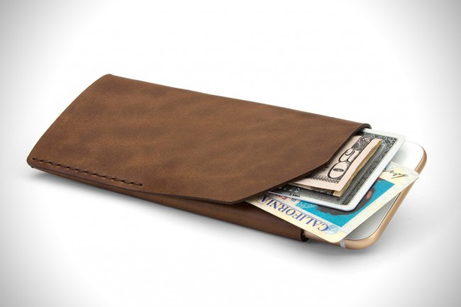 Portefeuille étui pour iPhone 6