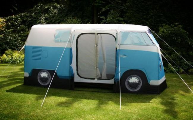 tente camping van Volkswagen 4