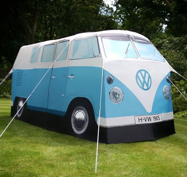 tente camping van Volkswagen