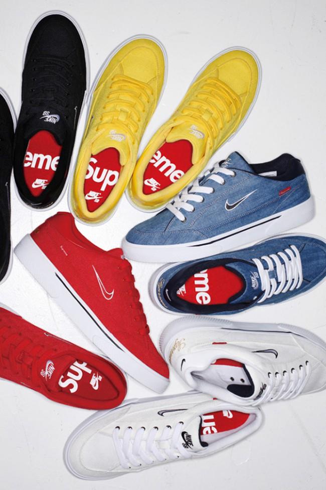 Baskets Supreme Nike sbgts