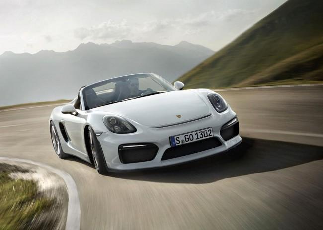 Calendre Porsche boxster spyder 2016