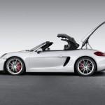 Coffre et capote Porsche boxster spyder 2016