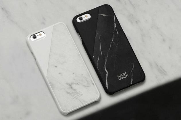 Coque iphone6 en marbre noir