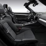 Intérieur Porsche boxster spyder 2016