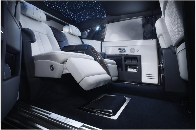 Intérieur Rolls Royce Phantom Limelight