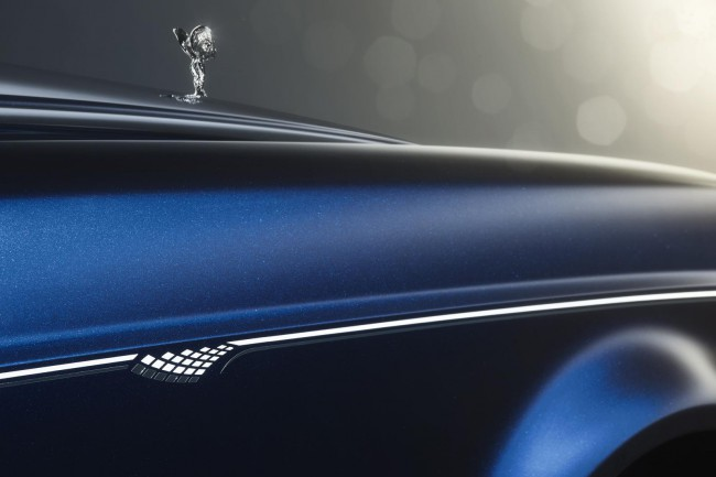 Peinture métallisé Rolls Royce Phantom Limelight
